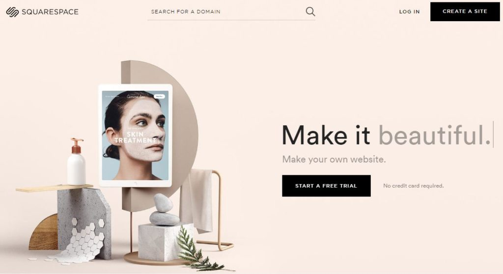 squarespace bloggign platform