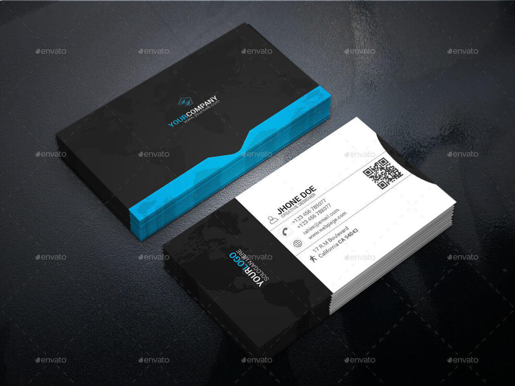 31 professional simple business cards templates for 2018 creative business card buy now wajeb Images
